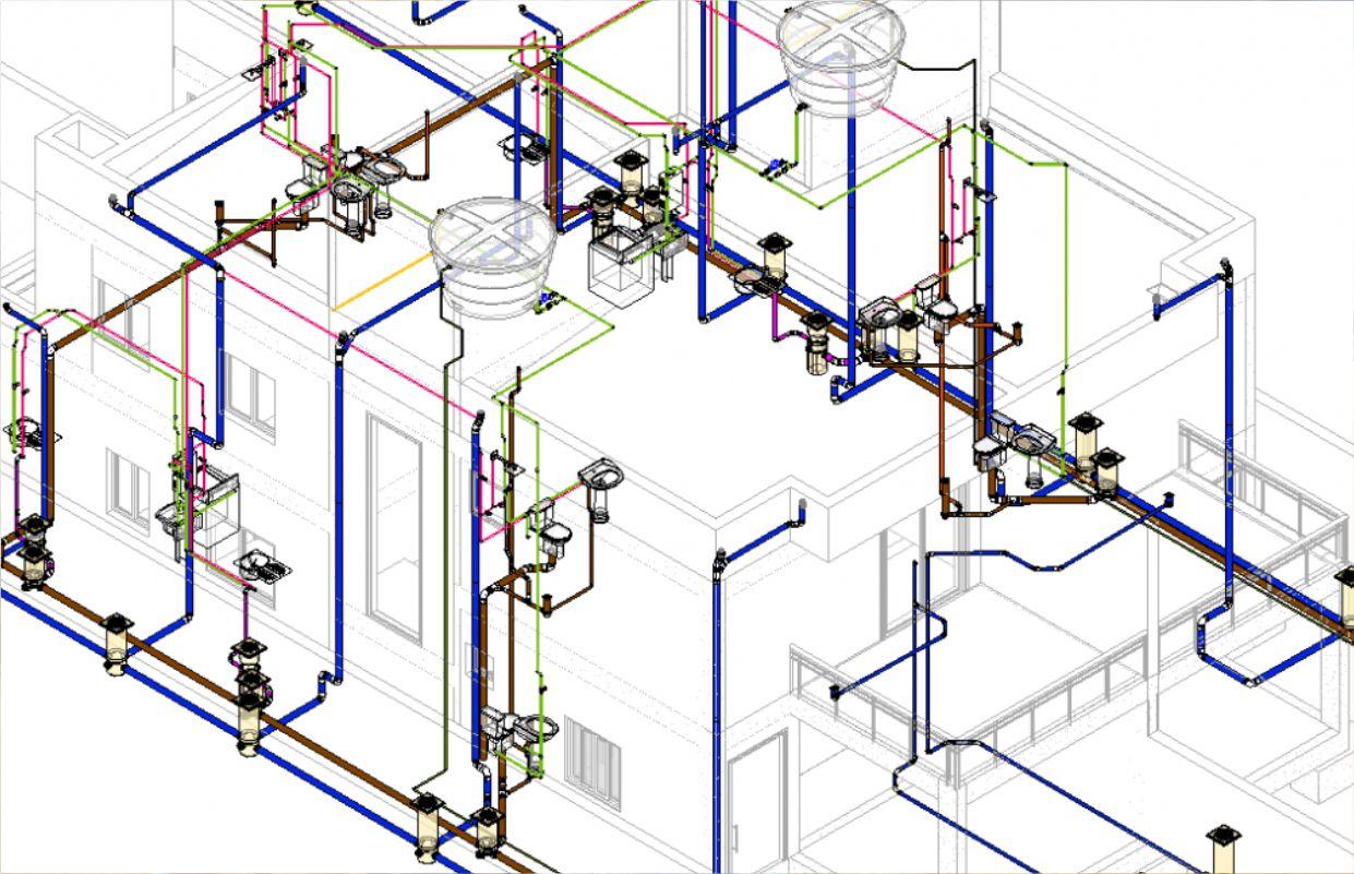 projetos hidráulicos